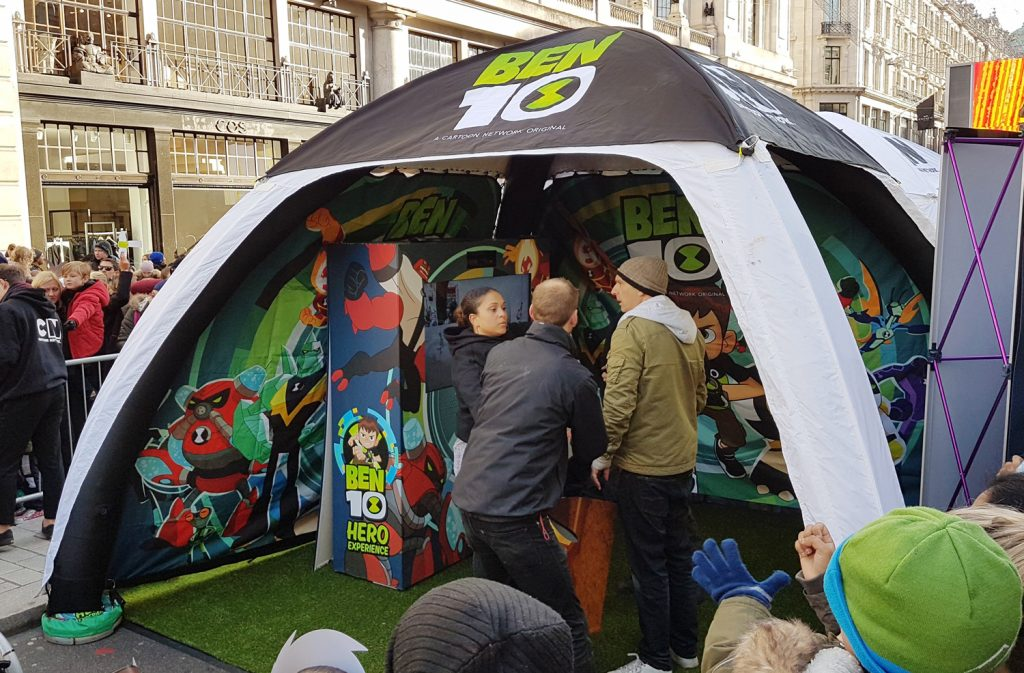 6m x 6m Inflatable Tent Hire