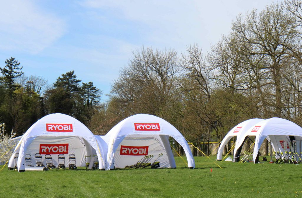 6m x 6m Branded Inflatable Tent Hire