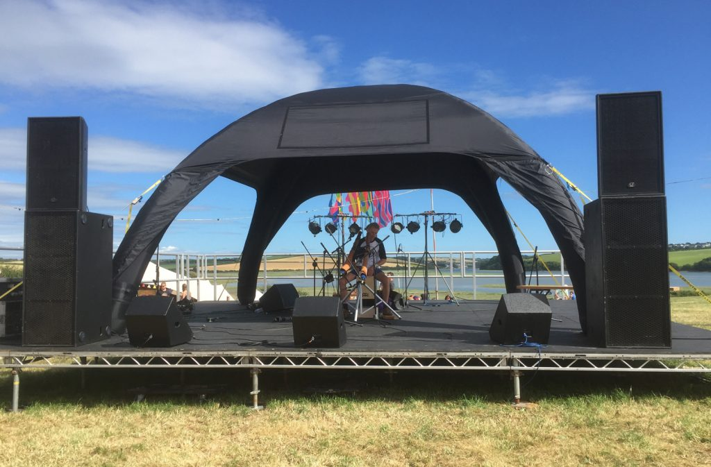 6 metre Dome Stage Tent