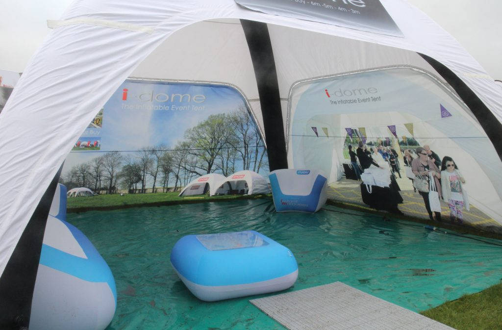 6m x 6m Tent with Branded Walls