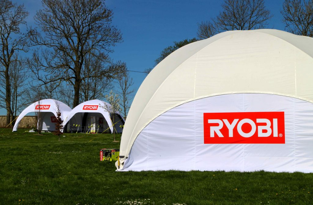 Branded Crossover Dome Rental