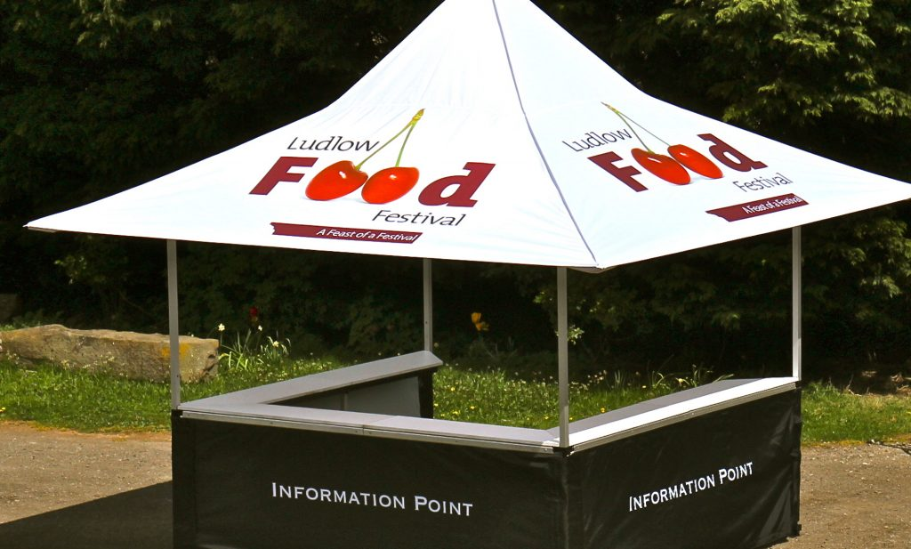 Pop Up Bar Tent