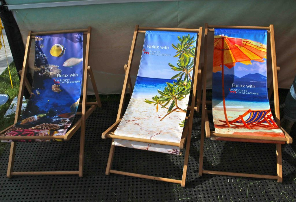 Beach Print Chairs