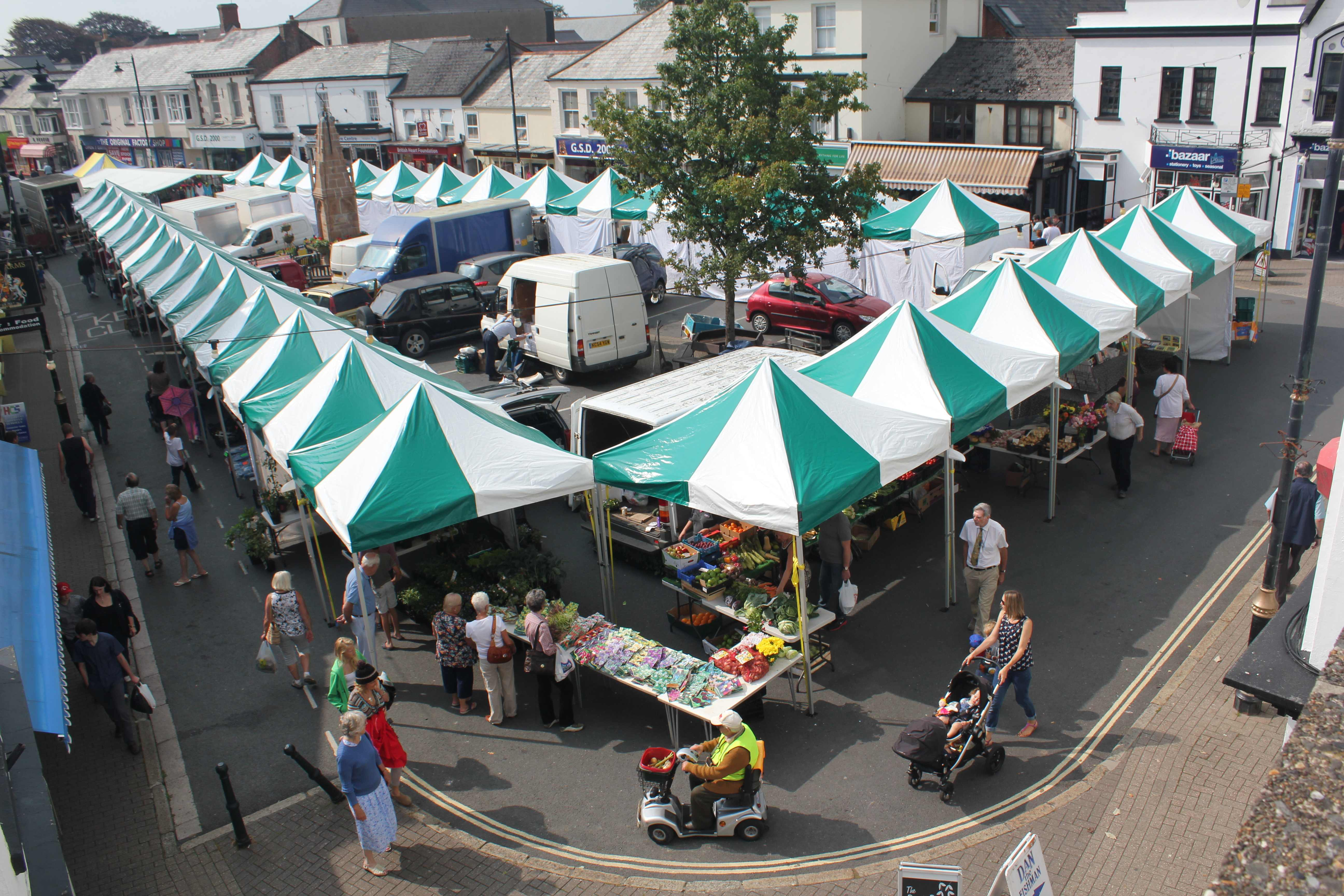 Holsworthy Market Stalls by Instant Marquees