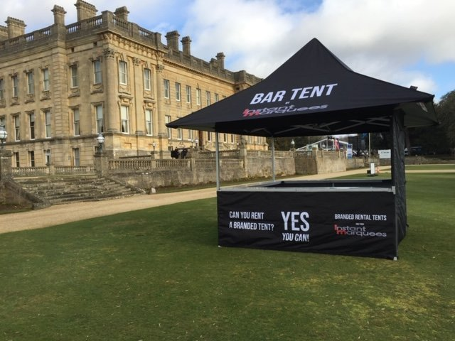 Instant Marquees Rental Bar Tent